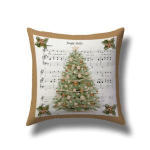 cuscino salotto christmas 2019 con stampa in digitale